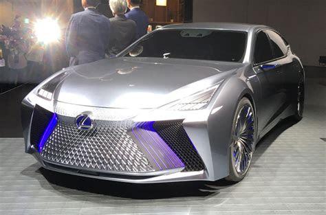 lexus ls concept previews autonomous tech due
