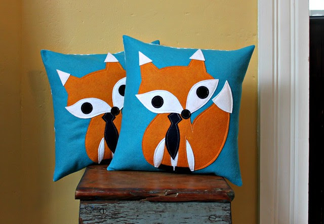 Fox Pillows x's Two!