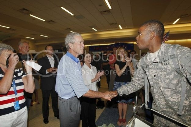 1 hug shy appreciates firm handshake soldier nbspdfw airport 2013