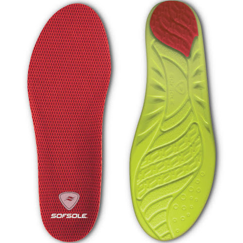 Sof Sole Arch Insole - Women's-Red-5-7.5