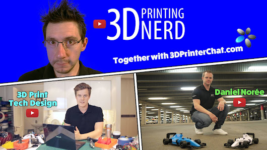 ONE FREE 3D PRINTER EVERY THREE MONTHS!