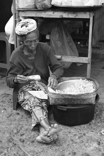 Elderly in Bali