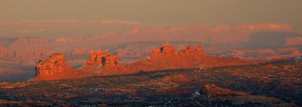 Sunset from Canyonlands