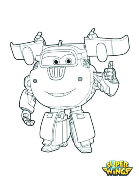 coloring pages  kids  images super wings