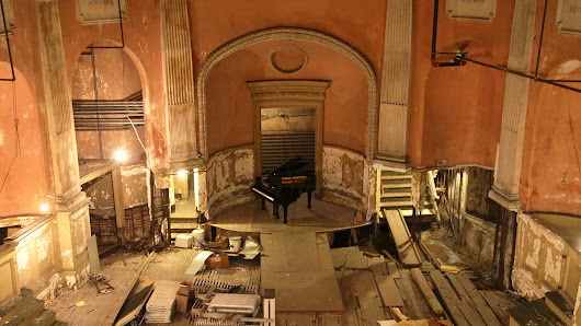 This 121-year-old music hall is hidden 40 feet underground: Take a 360 tour