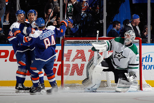 Islanders Will Try to Bounce Back Against the Stars -