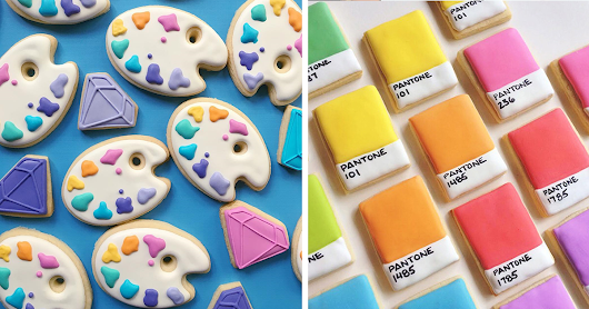 When Graphic Designer Uses Design Skills To Make Cookies (15+ Pics)