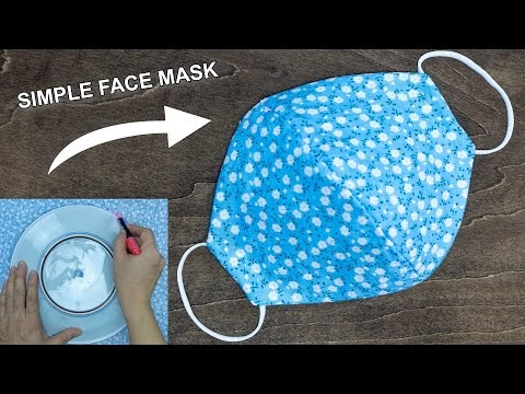 How to make a face mask at home for beginners