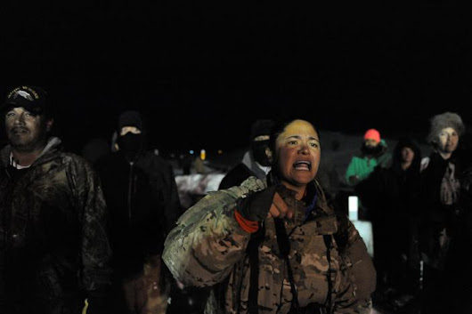 Veterans Self Deploy By The Thousands To Standing Rock