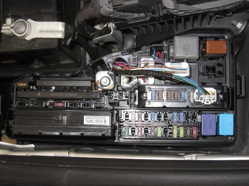Toyota Camry Fuse BoxToyota Camry - blogger