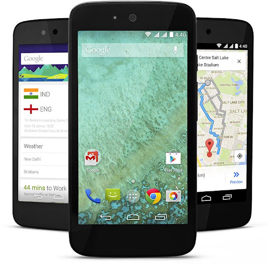 $100 Android One by Google Launched in India