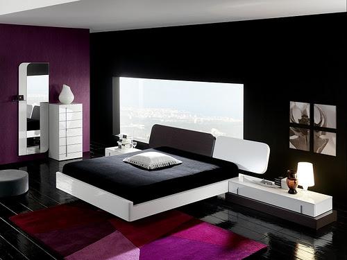 Luscious Purple Bedroom Designs for Modern Interiors - Minimalisti ...
