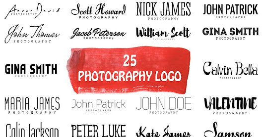 Free 25 Logo for Photographers