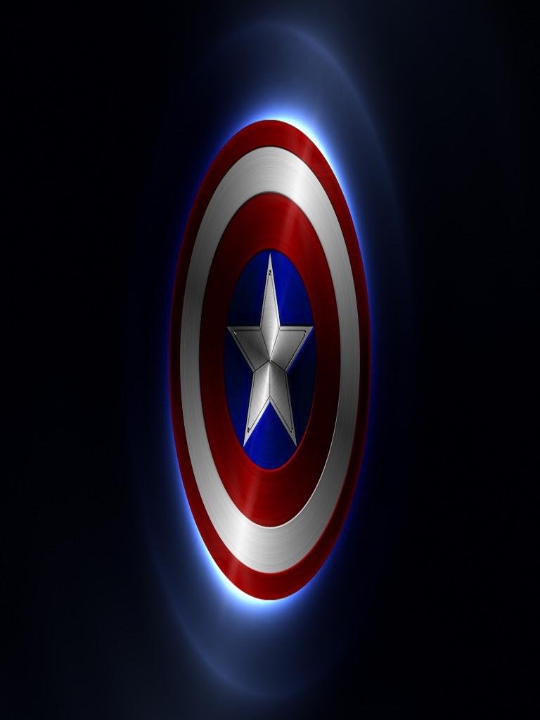 Captain America Shield Wallpaper Sf Wallpaper