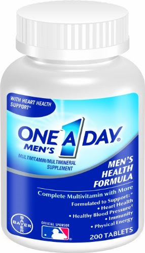 One A Day ® has many men's products that support heart health with key nutrients Vitamins B6, B12 and Folic Acid. One A Day ® has many men's products that support heart health † with key nutrients Vitamins B6, B12 and Folic Acid.