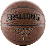 Spalding Rookie Gear Basketball, Indoor/Outdoor, 27.5 Inch Youth Size
