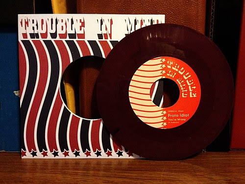 "Proto Idiot - You're Wrong 7"" - Maroon Vinyl (/500) by Tim PopKid"