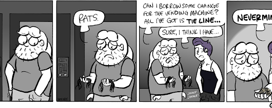 Q2Q Comics #237: Pocket Full of Tie Line