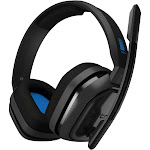 Astro Gaming A10 Wired Stereo Gaming Headset for PlayStation 4 - Blue/Black
