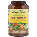 MegaFood Multi for Women 40+ 60 Tablets