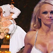 Pamela Anderson is out (in more ways than one): Baywatch star voted off Dancing on Ice... but was her costume fail to blame for stumble in skate-off?