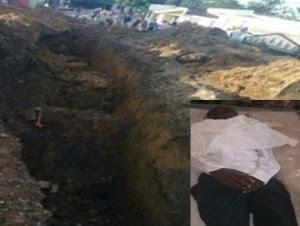 Obrero muere asfixiado y sepultado por derrumbe de tierra en Cotui