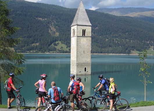Tower in Lake Reschen