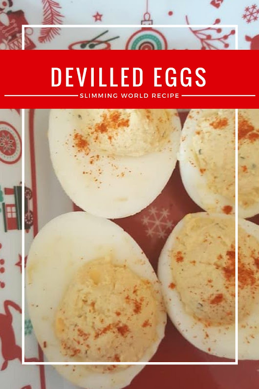 Devilled eggs - totally syn free on Slimming World and a great buffet item