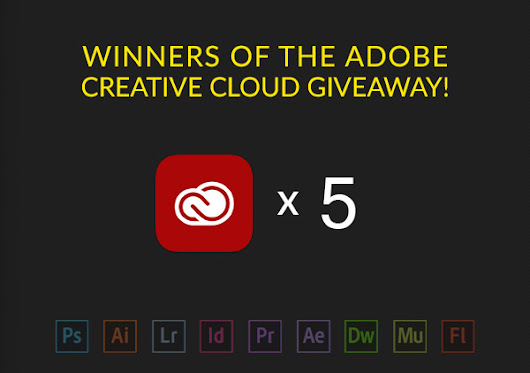 Giveaway – Win 5 x Full membership to Adobe Creative Cloud Free FOR LIFE! | Textuts