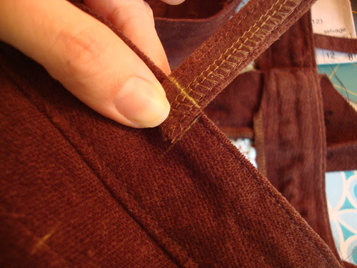 J Stern Designs corduroy jeans!