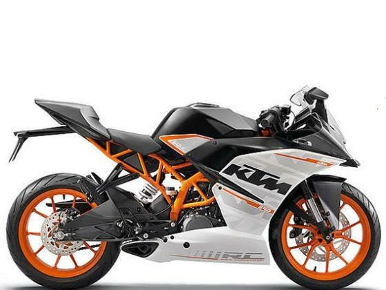 KTM RC 390 side shot