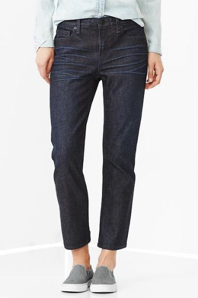 Gap 1969 High Rise Crop Jeans