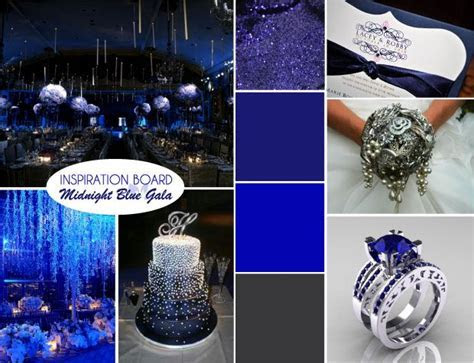 17 Best ideas about Midnight Blue Weddings on Pinterest