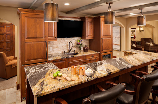 Rustic Lower Level Remodel - Rustic - Kitchen - milwaukee - by Bartelt. The Remodeling Resource