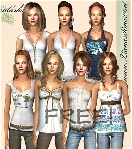 Liana Sims2 Clothes For Your Sims Free Downloads To Fashion Up