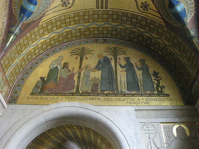 Monte Cassino Crypt Mosaics 05.JPG
