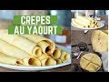 Recette Crepes Yaourt