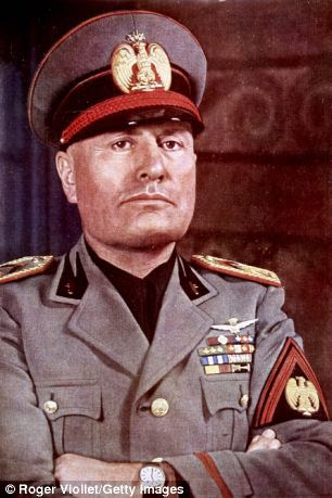 Image result for benito mussolini images