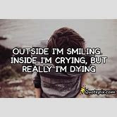 Outside Happy Inside Sad Quote