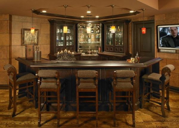Gallery For Basement Bar Ideas For Small Spaces