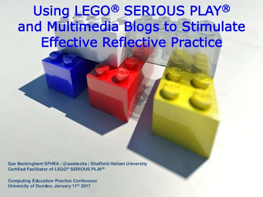 Using lego serious play and multimedia blogs to stimulate effective r…