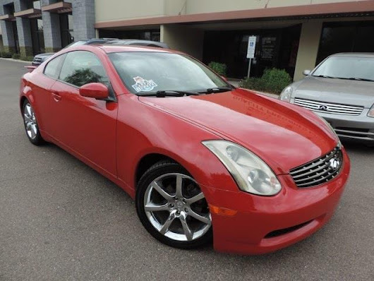 Used 2003 Infiniti G35 Coupe for Sale in Phoenix AZ 85027 101 Auto Outlet