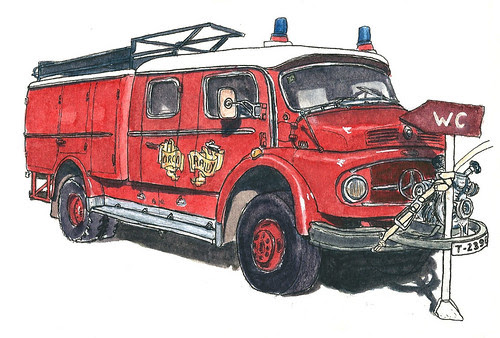 Mercedes Benz 1113 Pumper