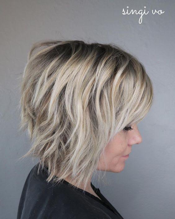 10 short shag hairstyles for women 2021