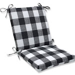 Pillow Perfect Outdoor/Indoor Anderson Matte Squared Corners Chair Cushion