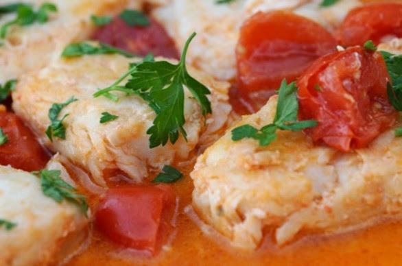 Filetto di merluzzo alle cipolle