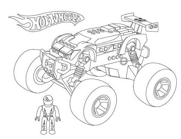 Kleurplaten Hot Wheels Battle Force 5.Hot Wheels Hot Wheels Cars Coloring Pages Free