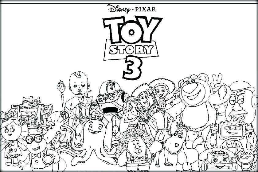 Toy Story 3 Coloring Pages at GetColorings.com | Free ...
