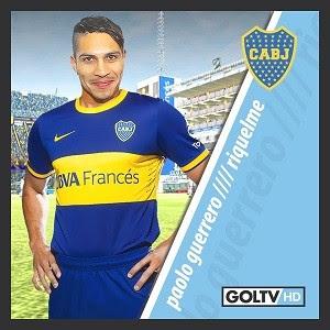 Guerrero camisa Boca Juniors blog