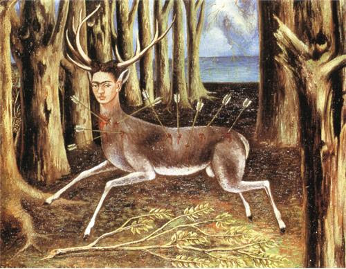 The Wounded Deer - Frida Kahlo